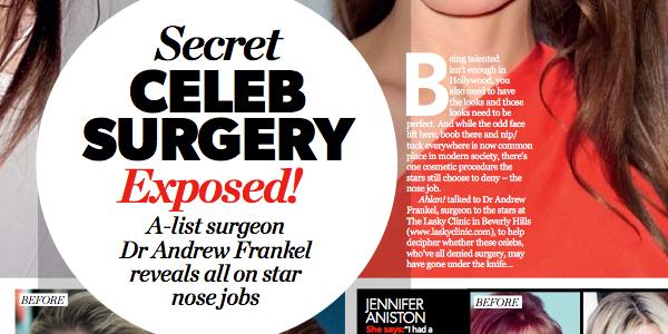 Secret Celeb Surgery Exposed